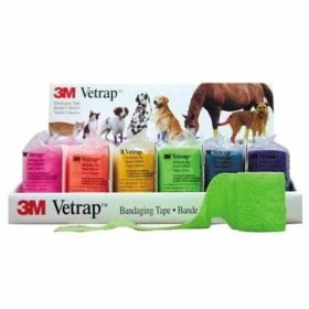 "3M: Vetrap 2"" Bright Pack (18)"