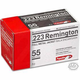 .223 REM FMJ 55gr 50rds/box