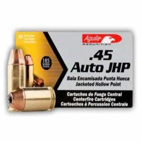 .45 AUTO JHP 185gr 50rds/box
