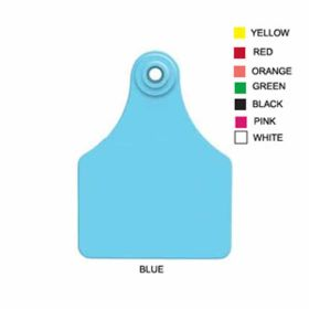 Allflex: Lg. Fem/Sm Male Blue 25/BG