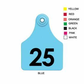 Allflex: Lg. Fem/Sm Male Blue 1-25