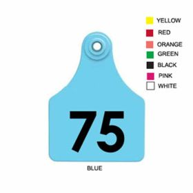 Allflex: Lg. Fem/Sm Male Black 51-75