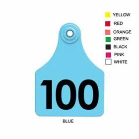 Allflex: Lg. Fem/Sm Male Orange 76-100