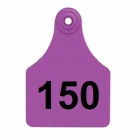 Allflex: Lg. Fem/Sm Male Purple 126-150