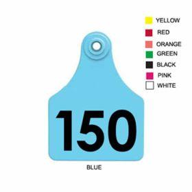 Allflex: Lg. Fem/Sm Male Green 126-150