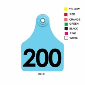 Allflex: Lg. Fem/Sm Male Pink 176-200