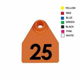 Allflex: Med. Fem/Sm Male Orange 1-25