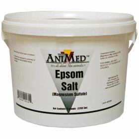 Animed: Epsom Salt 5lb Pail