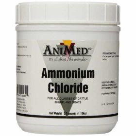 Animed: Ammonium Chloride 2.5lb 6/Cs