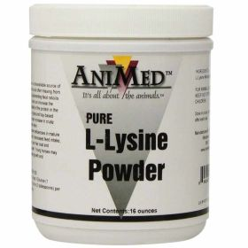 Animed: L-Lysine Pure 1lb 12/Cs