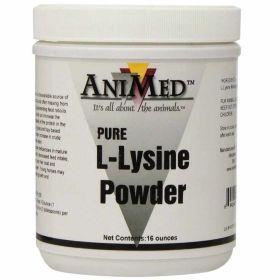 Animed: L-Lysine Pure 1lb 12/Cs