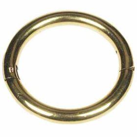 "Agri-Pro: Bull Ring 2 1/2"" X 5/16"" Brass"