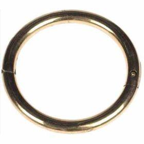 "Agri-Pro: Bull Ring 3"" X 3/8"" Brass"