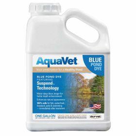 Aqua Vet: Blue Pond Dye Gal. 4/Cs