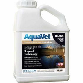 Aqua Vet: Black Pond Dye Gal. 4/Cs