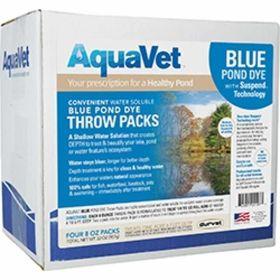 Aqua Vet: Blue Dye Ws Throw 4Pk   4/Cs