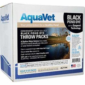 Aqua Vet: Black Dye Ws Throw 4Pk   4/Cs
