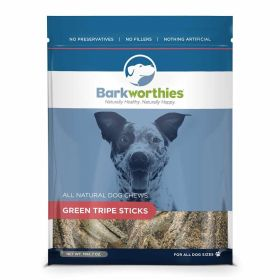 Barkworthies: Green Tripe Sticks 7oz 6/Cs