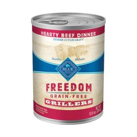 Freedom All Breeds Adult Hearty Beef Dinner  12.5 oz.