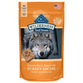 Wilderness All Breeds All Life Stages Turkey Biscuits  10 oz.