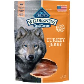 Wilderness All Breeds All Life Stages Turkey Jerky  3.25 oz.