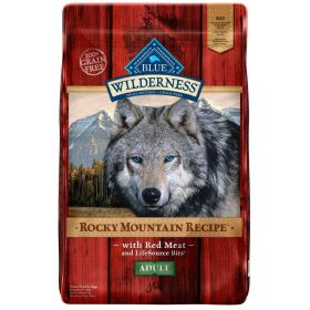 Wilderness Rocky Mountain Recipe All Breeds Adult Red Meat 22 lb.