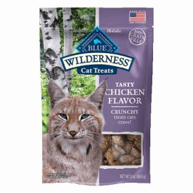 Wilderness Chicken Crunchy Cat Treats 2oz