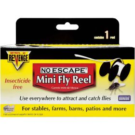 Bonide  Inc.: Revenge Mini Reel Kit Fly Tape