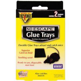 Bonide  Inc.: Revenge Mouse Glue Trays 2Pk 12/