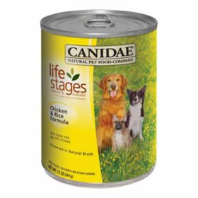Canidae: Chicken & Rice 13Oz Can - Case