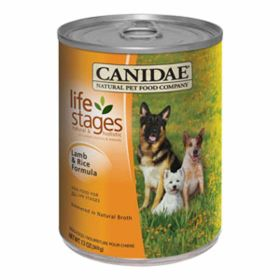 Canidae: Lamb & Rice 13Oz Can - Case
