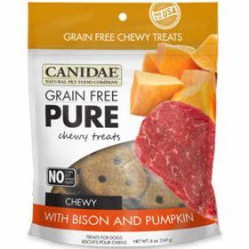 Pure Chewy Bison & Pumpkin Treat 12/6oz