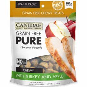 Pure Chewy Turkey & Apple Treat 12/6oz