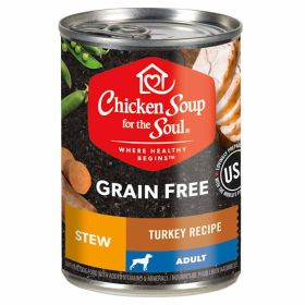 13oz CSS Grain Free Turkey Stew Dog Food