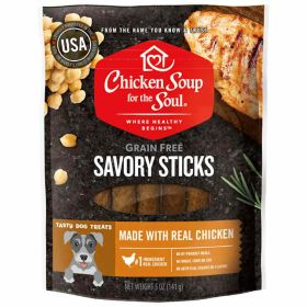 5oz CSS Savory Sticks Chicken Dog Treats