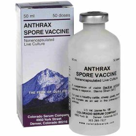 Colorado Serum: Anthrax Vaccine 50Ds.
