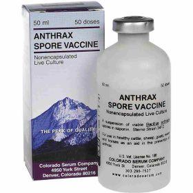 Colorado Serum: Anthrax Vaccine 50Ds.