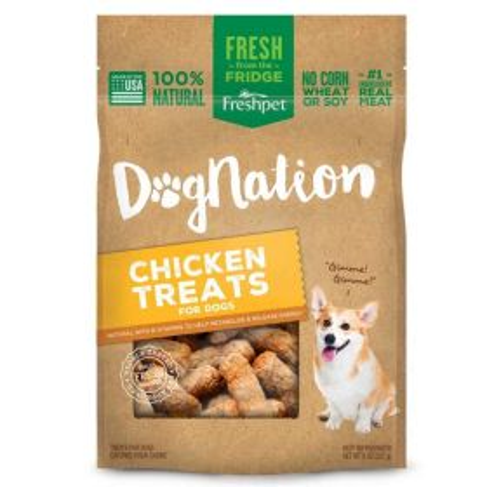 Dog Nation Chicken Treats 6/8oz