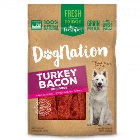 Dog Nation Turkey Bacon Treats 6/3oz