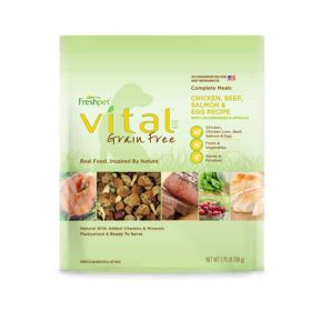 Vital GF Complete Meals for Dogs 4/5.5lb