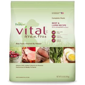 Vital GF Beef & Lamb Complete Meal for Dogs 4/5.5 lb