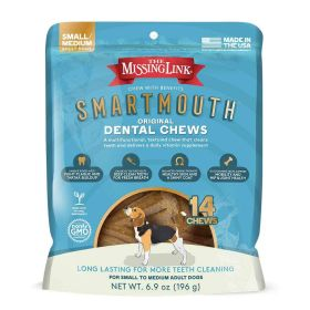 Smartmouth Dental Chew Sm/Md Dog 14 Ct.