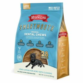 Smartmouth Dental Chew Lg/Xlg Dog 28 Ct.