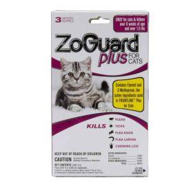 Zoguard Plus for Cats (>1.5#) 3pk 24/cs