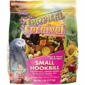 F.M. Brown's Sons: Carnival Sm Hookbill Fd 5lb 6/Cs