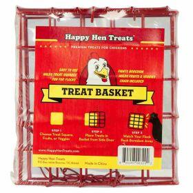 Happy Hen Treats: Treat Square Basket 8/Cs