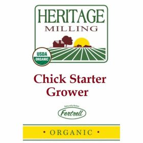 ORGANIC CHICK STARTER/GROWER 40#