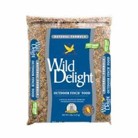 Wild Delight: Wd Outdoor Finch 5lb  6/Cs