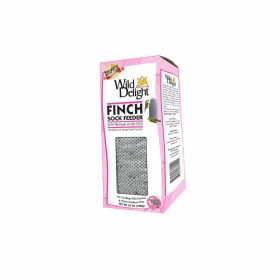 Wild Delight: Wd Finch Sock Feeder 25Oz. 8/Cs