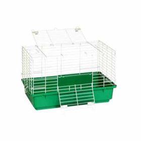 """Little Giant: Rabbit Cage 24.5"""" Plastic Bottom"""
